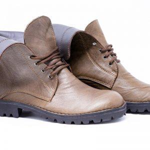 Combat boots Tartan