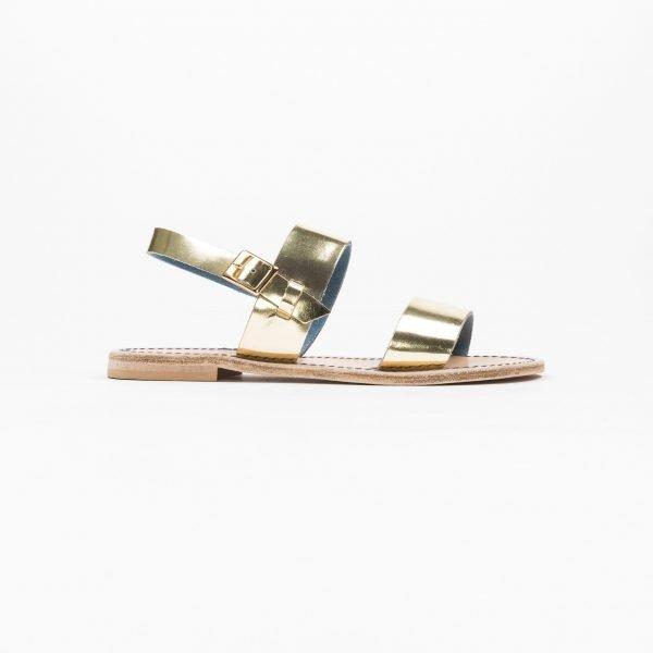 Sandali Specchio  platino