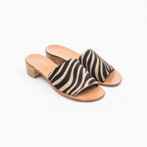 Sandals Zebra nocciola