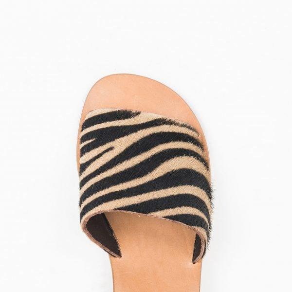 Sandali Zebra nocciola