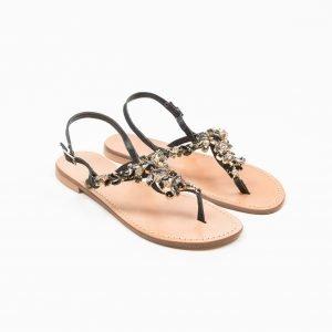Sandals vacchetta nera