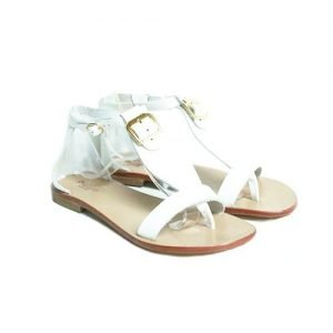 Women Sandals Renato L'Artigiano cowhide white bottom leather natural