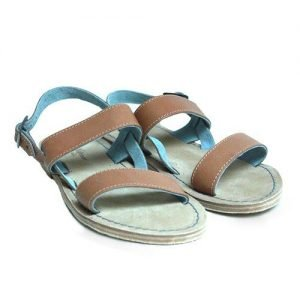 Women sandals Renato L'Artigiano cowhide leather bottom leather washed natural