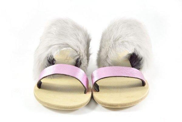 Sandali nuvola specchio