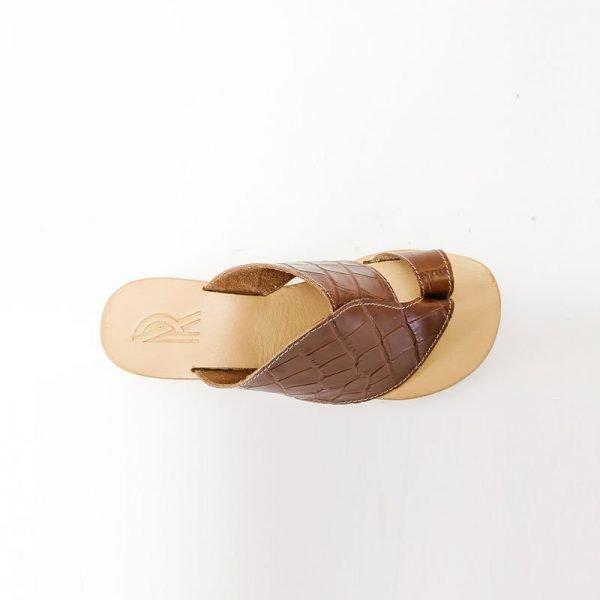 Sandali infradito cuoio