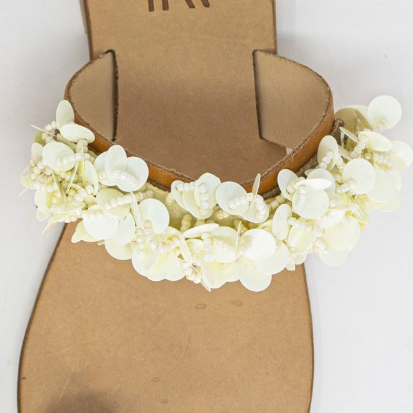 Sandali infradito fascia flower