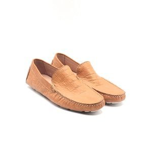 Mocassino leather vari colori - 47 Beige