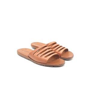 Sandali ciabatta fascia ritaglio
