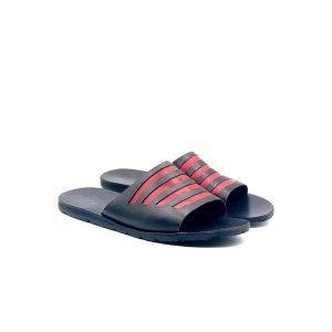 Sandali ciabatta ritaglio bicolor
