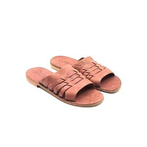 Sandali ciabatta chiusura incrocio