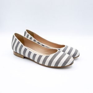 Ballerine casual stripe